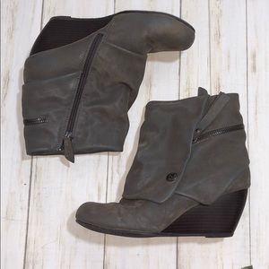 Blowfish Wedge Boots